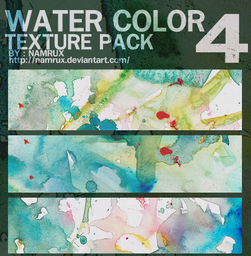 WaterColor Pack 0404