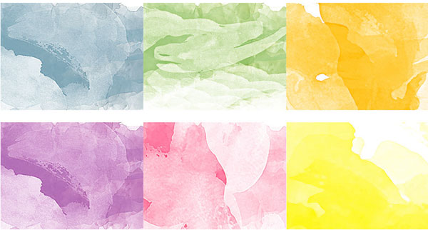 Watercolor Textures by ThePrettyGirls
