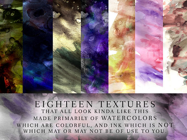 Watercolor TexturePack by Calthyechild