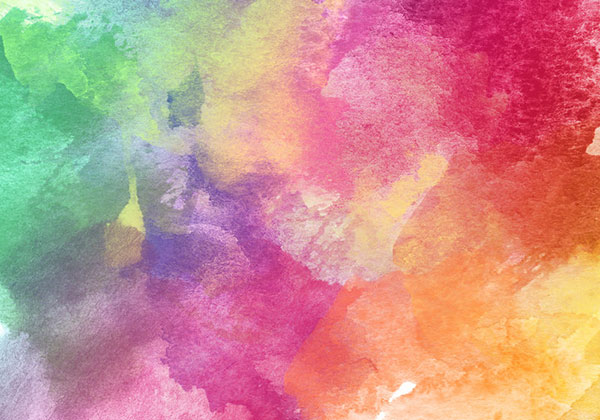 Abstract Colorful Watercolor Texture