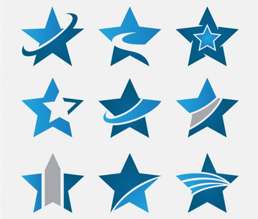 Abstract Icons stars
