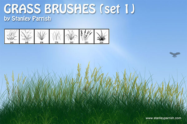 Grass Brushes set 1