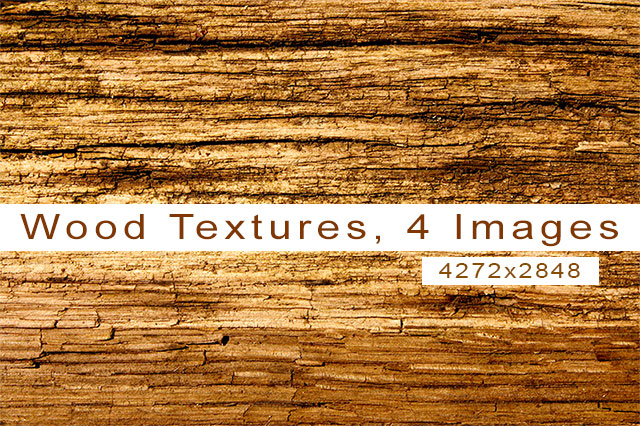4 Wood Images
