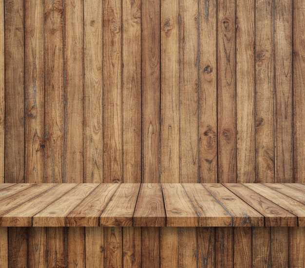 Floorboards With Wooden Wall Photo