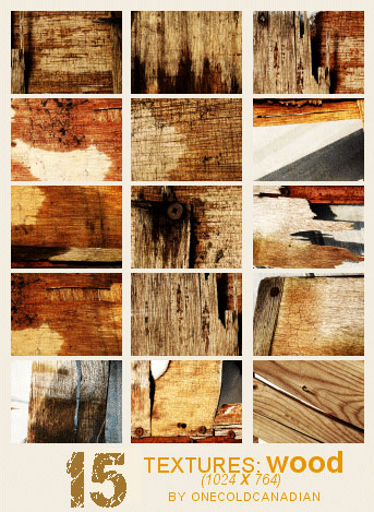 Textures - Wood by onecoldcanadian