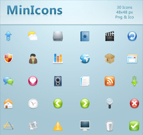 MinIcons by kyo-tux
