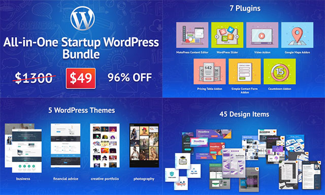 All-in-One WordPress Bundle набор для бизнеса