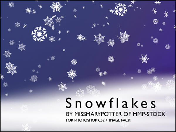 Snowflakes IMGPK by mmp-stock