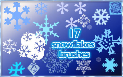 17 .abr Snowflake brushes для PS8+