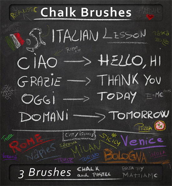 Chalk Brush For Any Situation