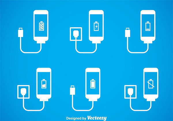 Phone Charger IconsSets