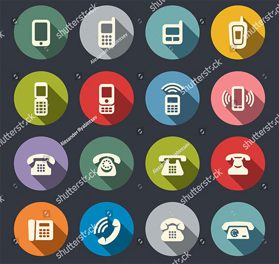 Phone Iconset