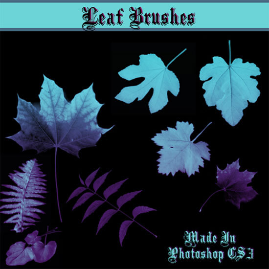 Leaf BrushSet by Dollieflesh-stock