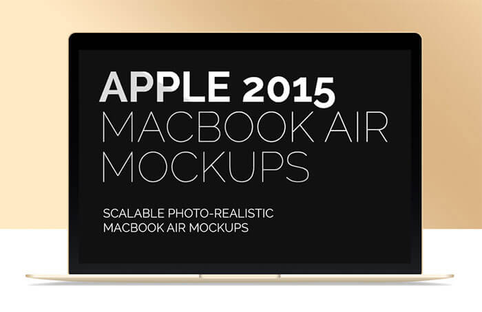 16 Free New MacBook Air Mockups