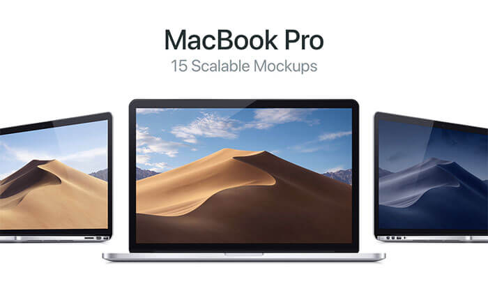 15 Scalable Vector of MacBook Pro