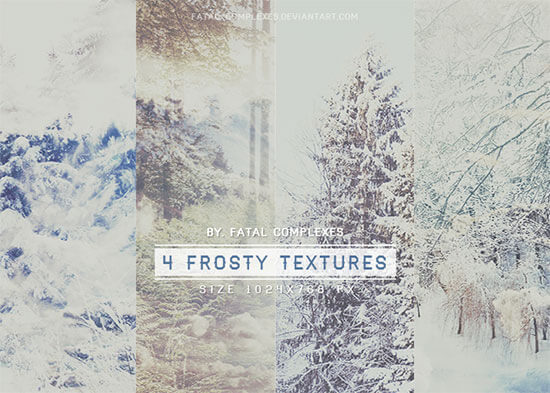 4 Frosty Textures