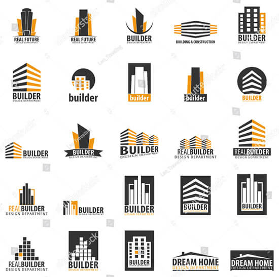 Modern Building Logo Design