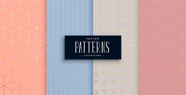 Lovely Pastel Patternset