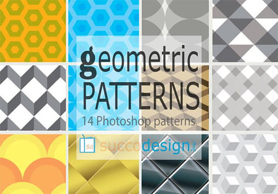 14 High Resolution Geometric Patterns