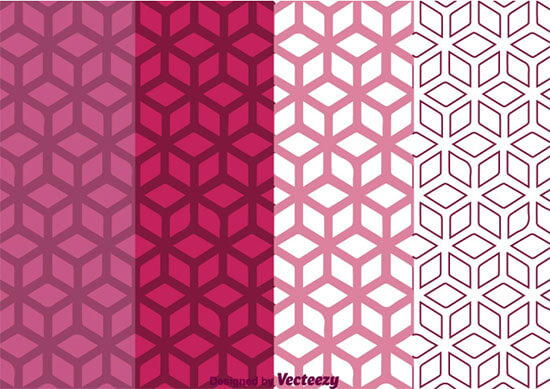 Geometric Purple Background