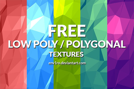 Low-Poly Background Textures