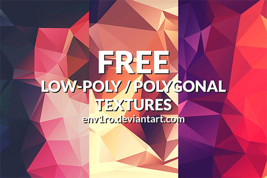 Low Poly Background Textures #2